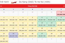 Vietjet khuyến mãi vé máy bay giá chỉ từ 99k